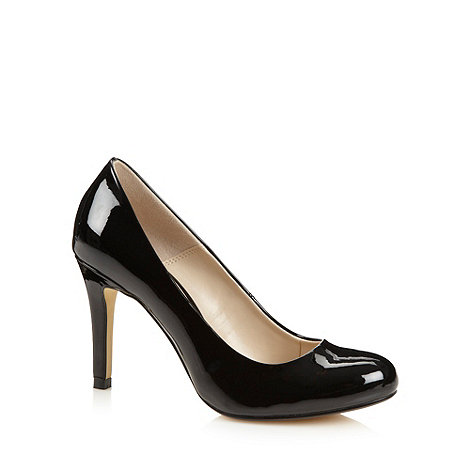 J by Jasper Conran - Designer black patent high court shoes