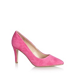 J by Jasper Conran - Designer pink suede high court shoes