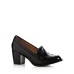 Betty Jackson.Black - Designer black leather mid court shoes