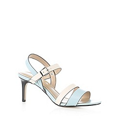 J by Jasper Conran - Designer light blue multi strap mid sandals