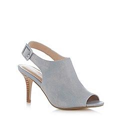 J by Jasper Conran - Designer light blue leather reptile slingback high court shoes