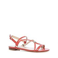 J by Jasper Conran - Designer coral snake effect strappy sandals