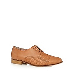 RJR.John Rocha - Designer tan woven leather shoes
