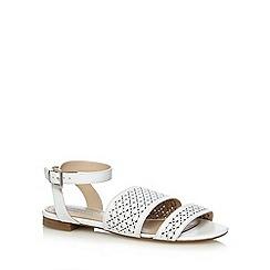 RJR.John Rocha - Designer white cutout sandals