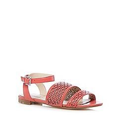 RJR.John Rocha - Designer coral cutout sandals