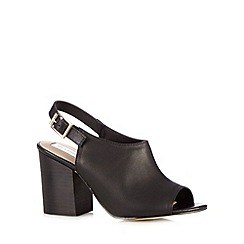 RJR.John Rocha - Designer black high sling back shoe boots