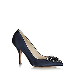 No. 1 Jenny Packham - Designer navy jewel toe high court shoes