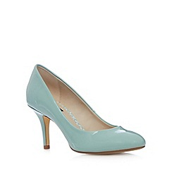 Principles by Ben de Lisi - Designer pale green patent high stiletto court shoes