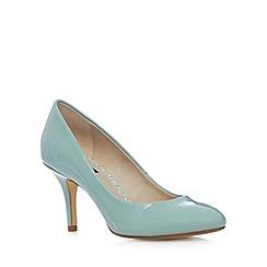 Principles by Ben de Lisi - Designer pale green patent high stiletto court shoes