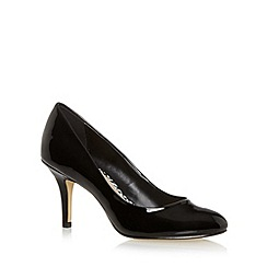 Principles by Ben de Lisi - Designer black patent high stiletto court shoes