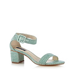 Principles by Ben de Lisi - Designer light green woven mid sandals