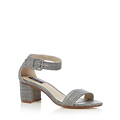 Principles by Ben de Lisi - Designer grey textured mid sandals