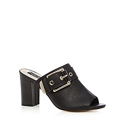 Principles by Ben de Lisi - Designer black buckle high sandals