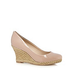 Principles by Ben de Lisi - Designer natural patent straw high court shoes