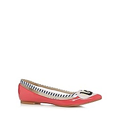 Floozie by Frost French - Pink patent 'Love' pumps