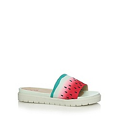 Floozie by Frost French - Green fruit effect sandals