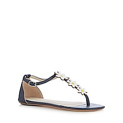 Floozie by Frost French - Navy daisy sandals