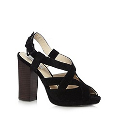RJR.John Rocha - Designer black cross strap high sandals