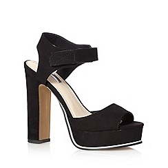 H! by Henry Holland - Designer black platform sandals