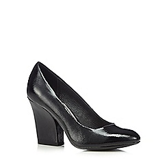 RJR.John Rocha - Designer black patent high court shoes