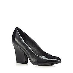 RJR.John Rocha - Designer black patent high court shoes
