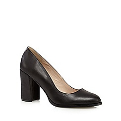 RJR.John Rocha - Black leather court shoes