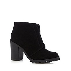 RJR.John Rocha - Black suede lace up ankle boots