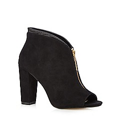 Principles by Ben de Lisi - Designer black zip front high shoe boots