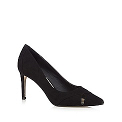 Principles by Ben de Lisi - Designer black cutout pointed high heeled shoes