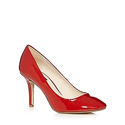 Principles by Ben de Lisi - Designer red patent high heeled court shoes