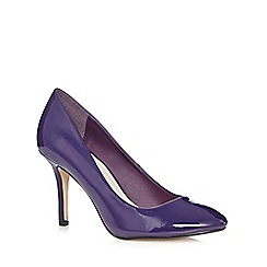Principles by Ben de Lisi - Designer purple patent high heeled court shoes