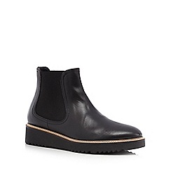 RJR.John Rocha - Black leather Chelsea boots