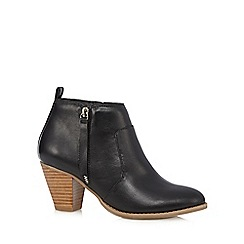 Nine by Savannah Miller - Black 'Samantha' ankle boots