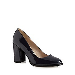 RJR.John Rocha - Navy patent court shoes