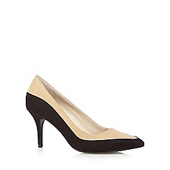 Principles by Ben de Lisi - Designer natural two tone high court shoes