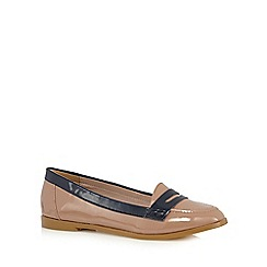 J by Jasper Conran - Tan patent loafers