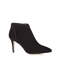 Nine by Savannah Miller - Black 'Selene' heeled ankle boots