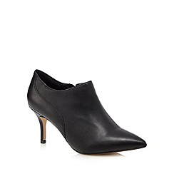 J by Jasper Conran - Black leather mid boots