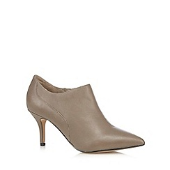J by Jasper Conran - Grey pointed ankle boots