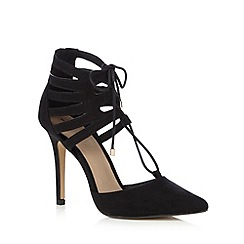 J by Jasper Conran - Black lace up heels