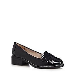 RJR.John Rocha - Black patent loafers