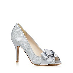 No. 1 Jenny Packham - Blue lace bow high court shoes