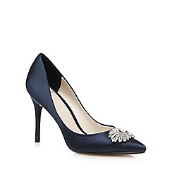 No. 1 Jenny Packham - Navy jewel embellished heels