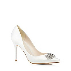 No. 1 Jenny Packham - Ivory jewel embellished heels