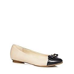 Principles by Ben de Lisi - Natural bow 'Blair' flat shoes