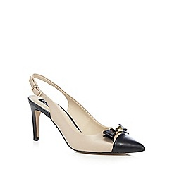 Principles by Ben de Lisi - Natural black toe cap heels
