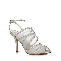 No. 1 Jenny Packham - Silver pearl high sandals