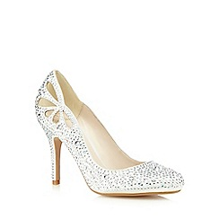 No. 1 Jenny Packham - Ivory studded high court shoes