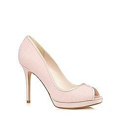 No. 1 Jenny Packham - Pink peep toe high court shoes