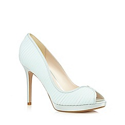 No. 1 Jenny Packham - Pale green peep toe high court shoes